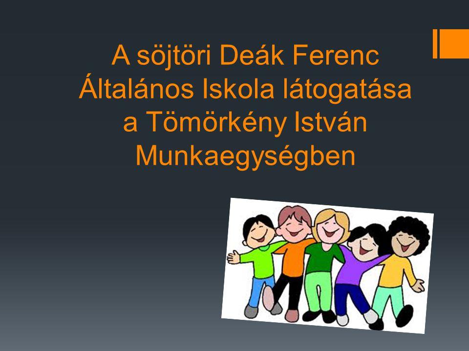 Vendég iskola látogatása  Vasárnap délután (2012.04.29-én) a söjtöri (Magyarország, Zala megye) Deák Ferenc Általános Iskola 7.