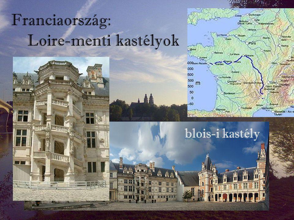 Franciaország: Loire-menti kastélyok blois-i kastély