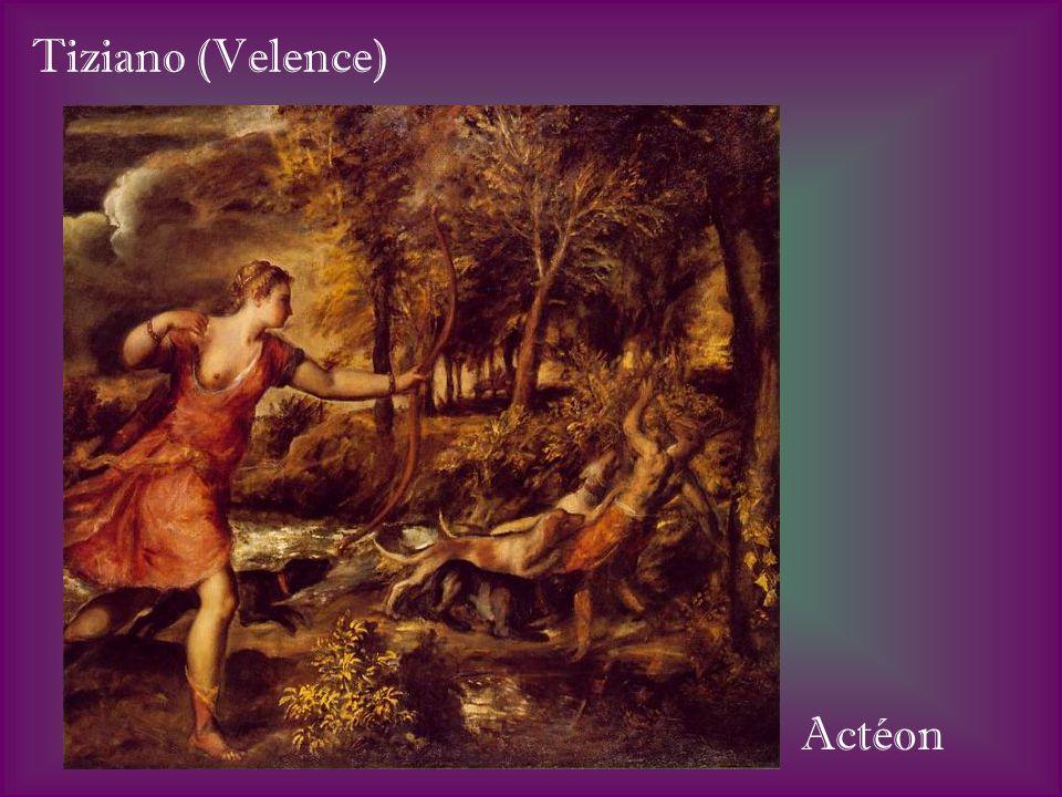 Tiziano (Velence) Actéon