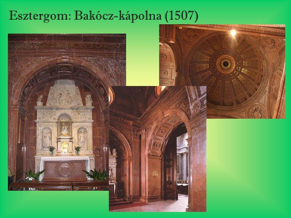 Esztergom: Bakócz-kápolna (1507)