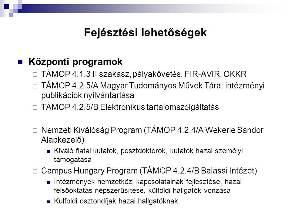"""TÁMOP 4.2.2/C  """"Előremutató Info-Kommunikációs Technológiák kutatásának támogatása, valamint a kapcsolódó IT szakember utánpótlás biztosítása  Konvergencia forrás: 7,16 Mrd Ft  KMR forrás: egyelőre nincs, minimális esély van átcsoportosításra  200 M Ft – 1,6 Mrd Ft / projekt  Cél:  Digital Agenda, FET, Horizon2020 célkitűzésekhez kapcsolódó IKT kutatások  Támogatható tevékenységek  2-3 vidéki Future / IKT központ kiépítése, amelyek képesek országosan menedzselni egy-egy platformot, zászlóshajó projektet  Horizon2020 programokba való bekapcsolódás előkészítése országos koordinációs és intézményi szinten  Alapkutatások támogatása  Kapcsolódó képzés, továbbképzés  Ütemterv  Partnerség: november 2."""