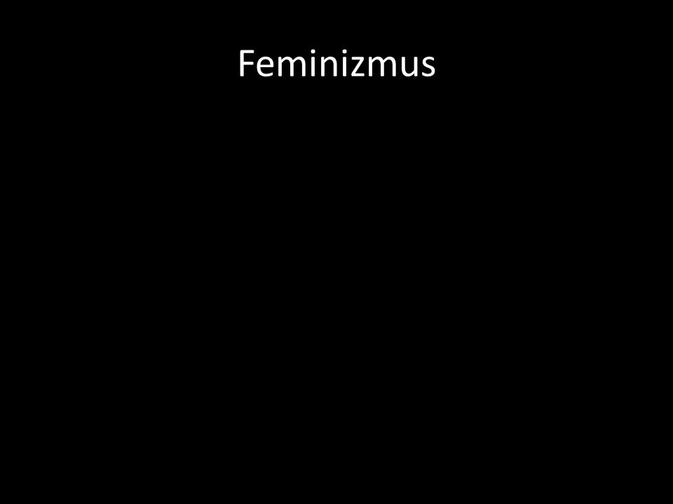 Feminizmus