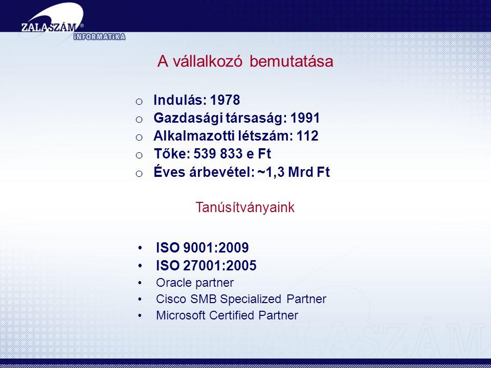 •Tanácsadás (informatikai, telekommunikációs) •Projektmenedzsment •Minőségbiztosítás •Igazgatásszervezés •Alkalmazástervezés •Alkalmazásfejlesztés, alkalmazás integráció, adatmigráció •Infrastruktúra tervezés •Infrastruktúra szállítás, integráció •Rendszerbevezetés, oktatás •Rendszerüzemeltetés, távoli felügyelet •HelpDesk, support •ASP szolgáltatás •Telekommunikációs szolgáltatások: Internet, IP telefon, IP TV Főbb tevékenységek