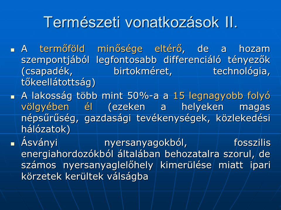 Természeti vonatkozások II.