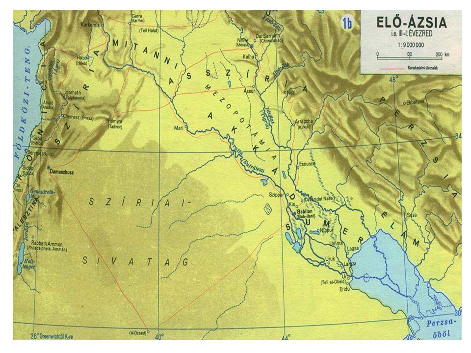 Babilónia A városállamok kora •A 3.