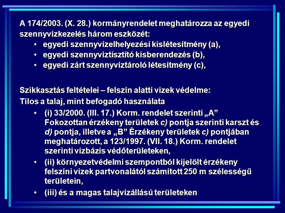 A 174/2003.(X.