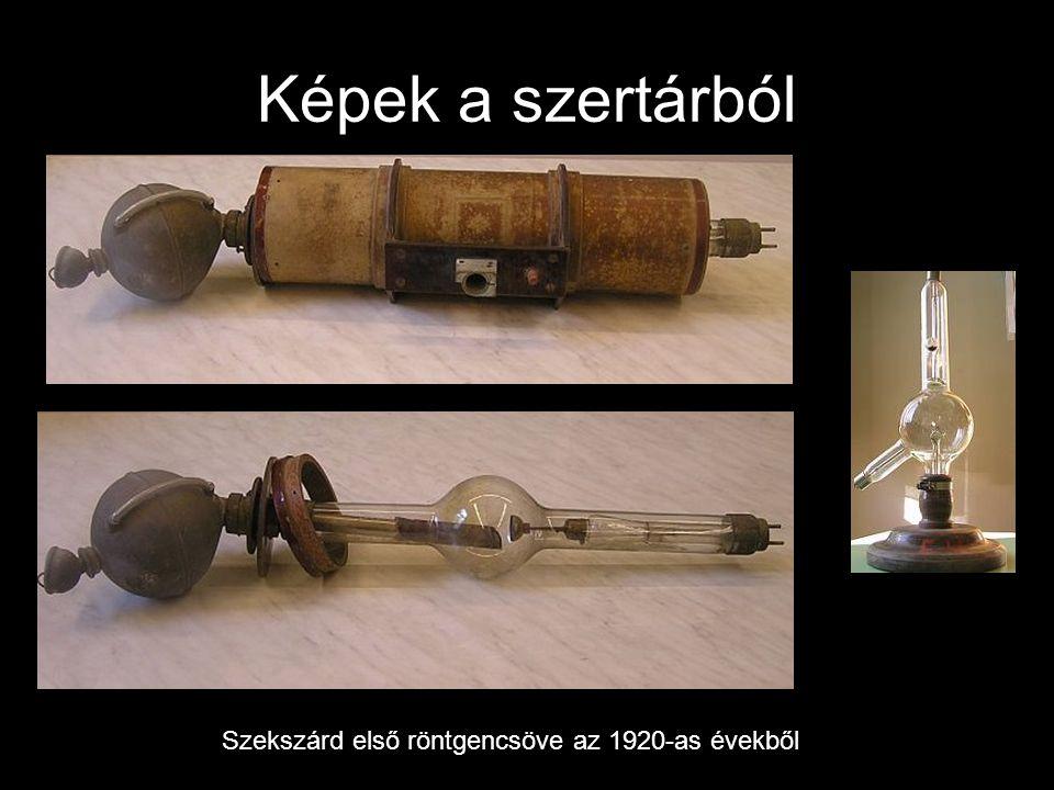 Képek a szertárból Szekszárd első röntgencsöve az 1920-as évekből