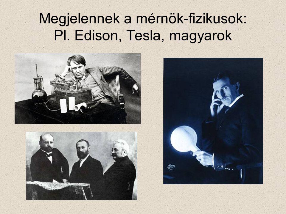 Mivel foglalkoztak a fizikusok a XIX.sz.-ban.