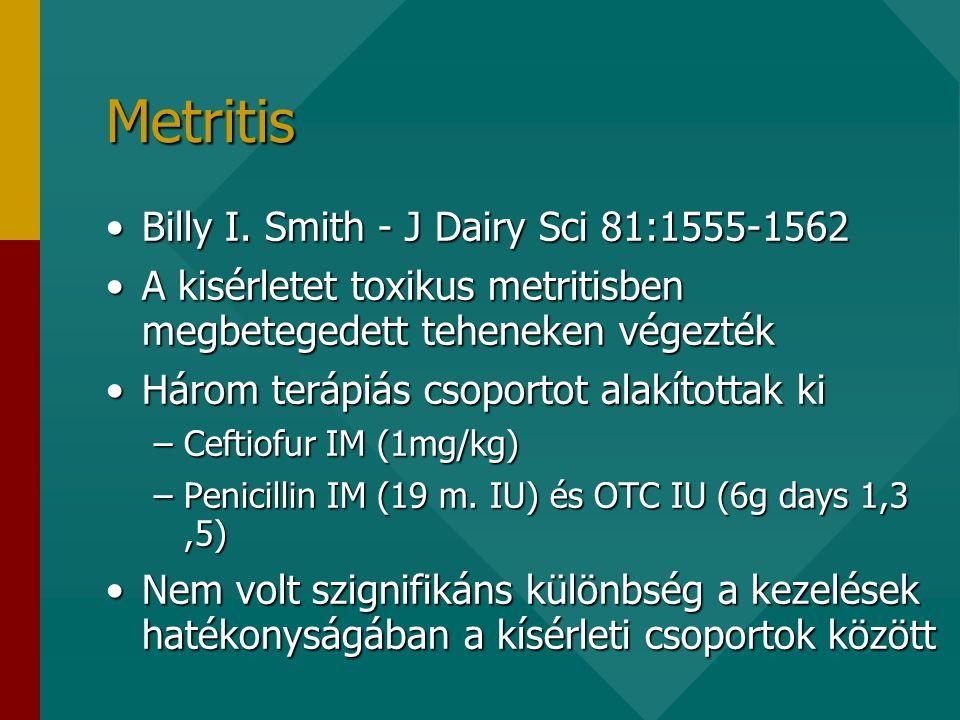 Metritis •Billy I.