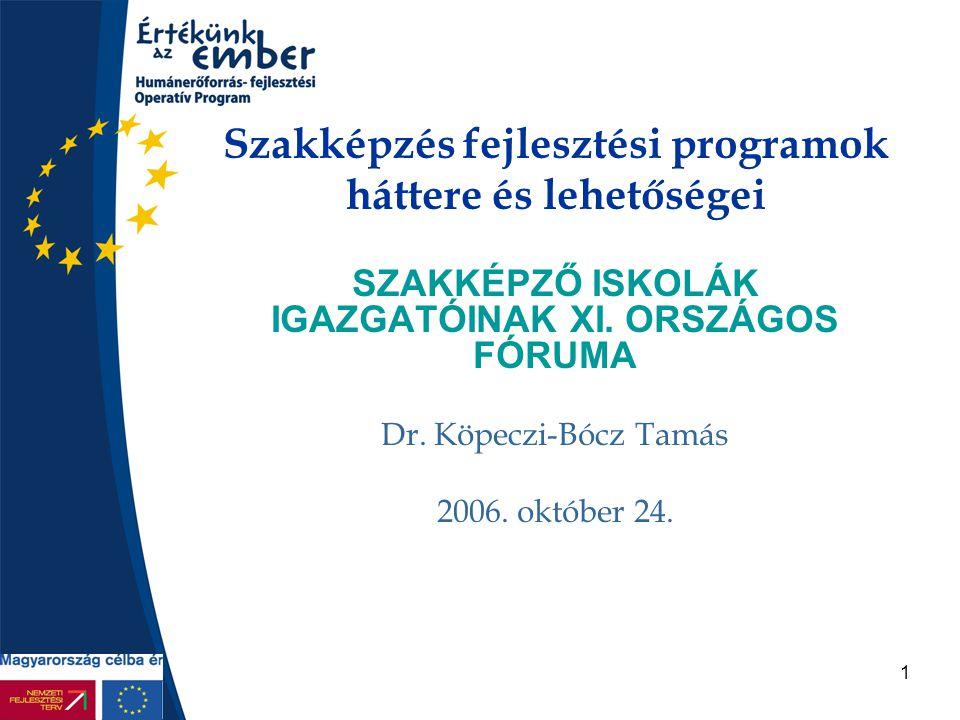 2 Tervezés menetrendje •OP-k első olvasatban a kormány előtt volt október 11.