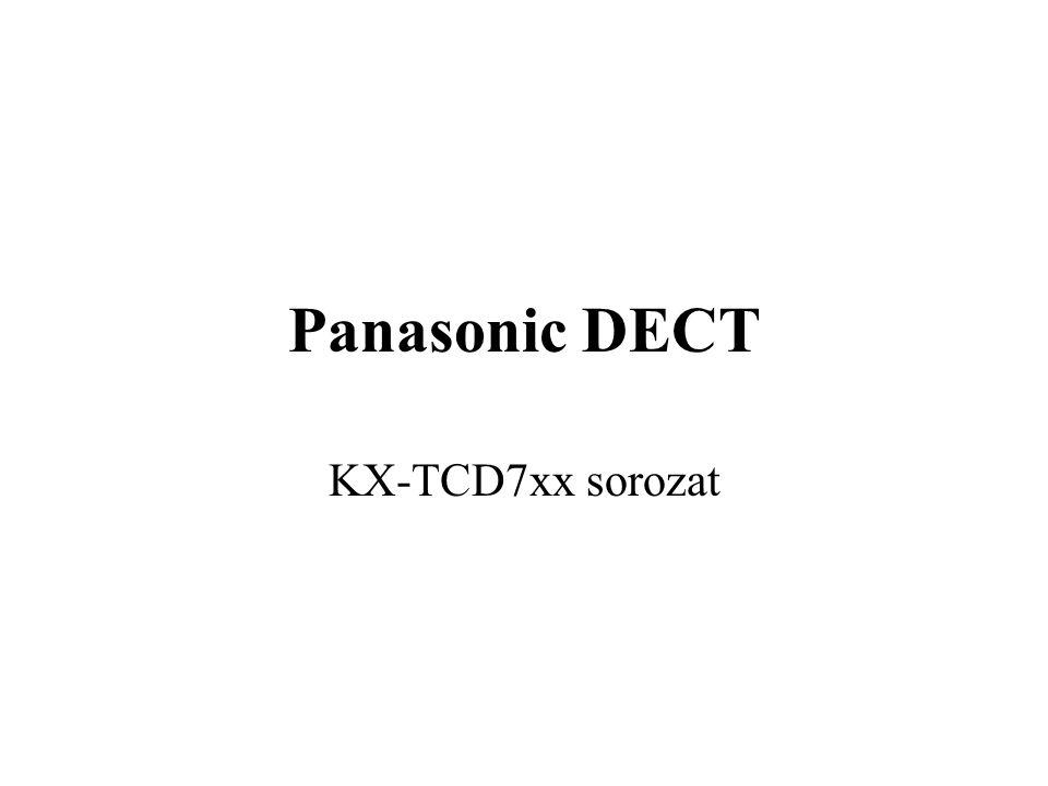 Panasonic DECT KX-TCD7xx sorozat