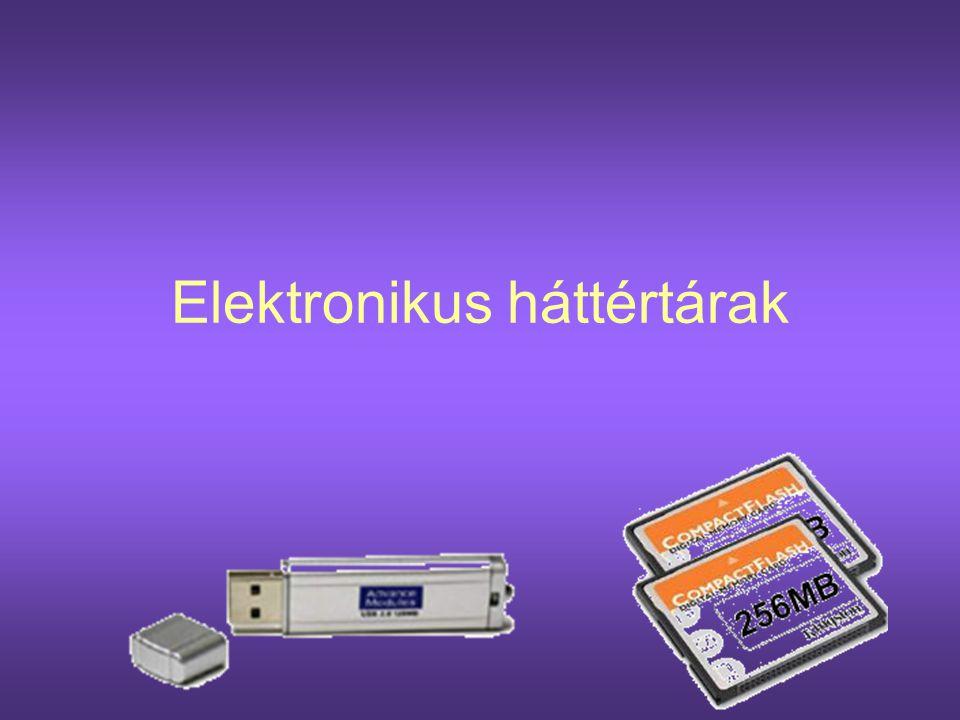 Az elektronikus tár elektronikusan rögzíti az adatokat, megbízható, törölhető tár.