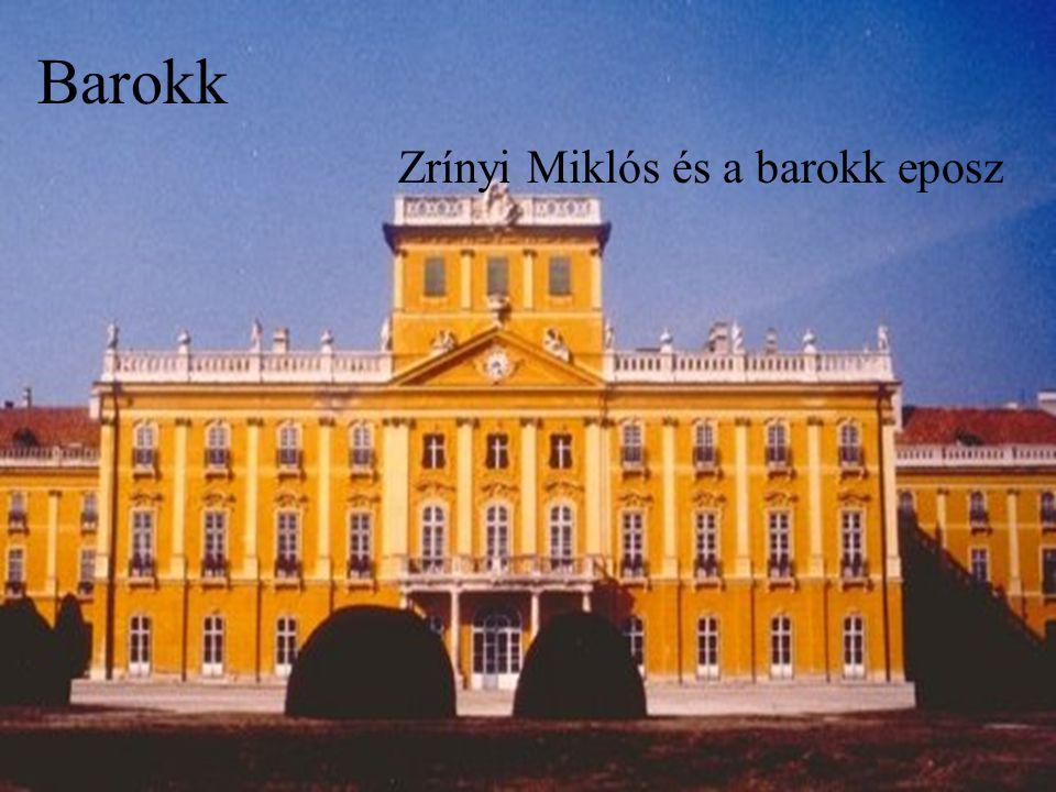 Barokk Zrínyi Miklós és a barokk eposz