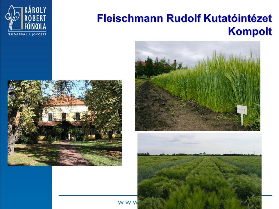 Fleischmann Rudolf Kutatóintézet Kompolt