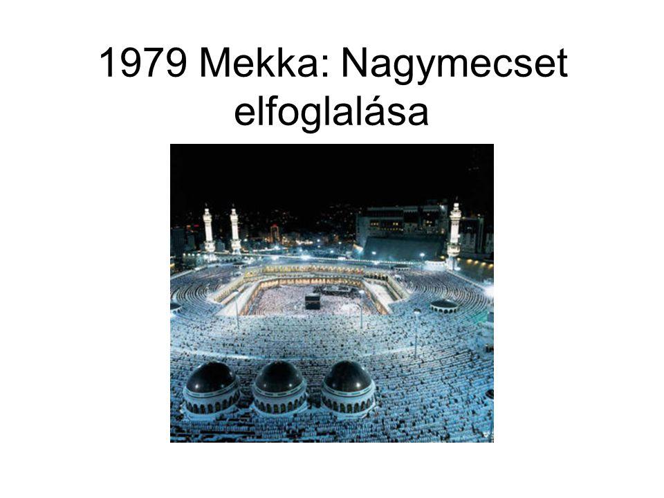 1979 Mekka: Nagymecset elfoglalása