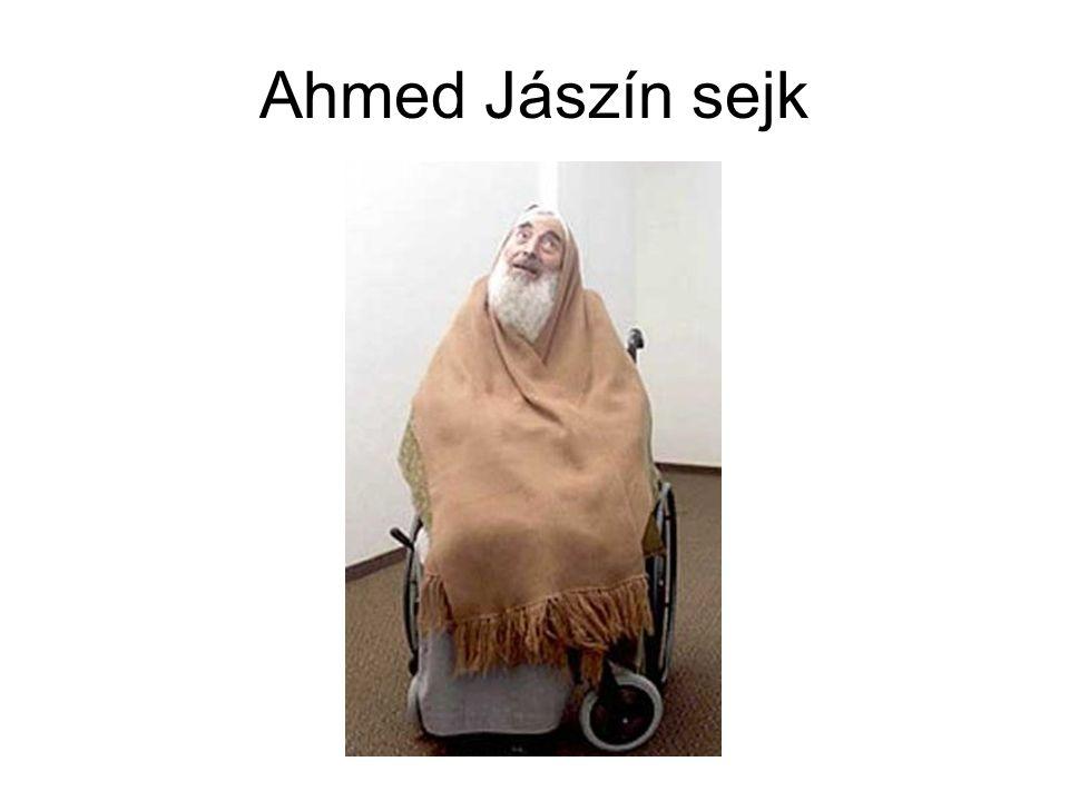 Ahmed Jászín sejk