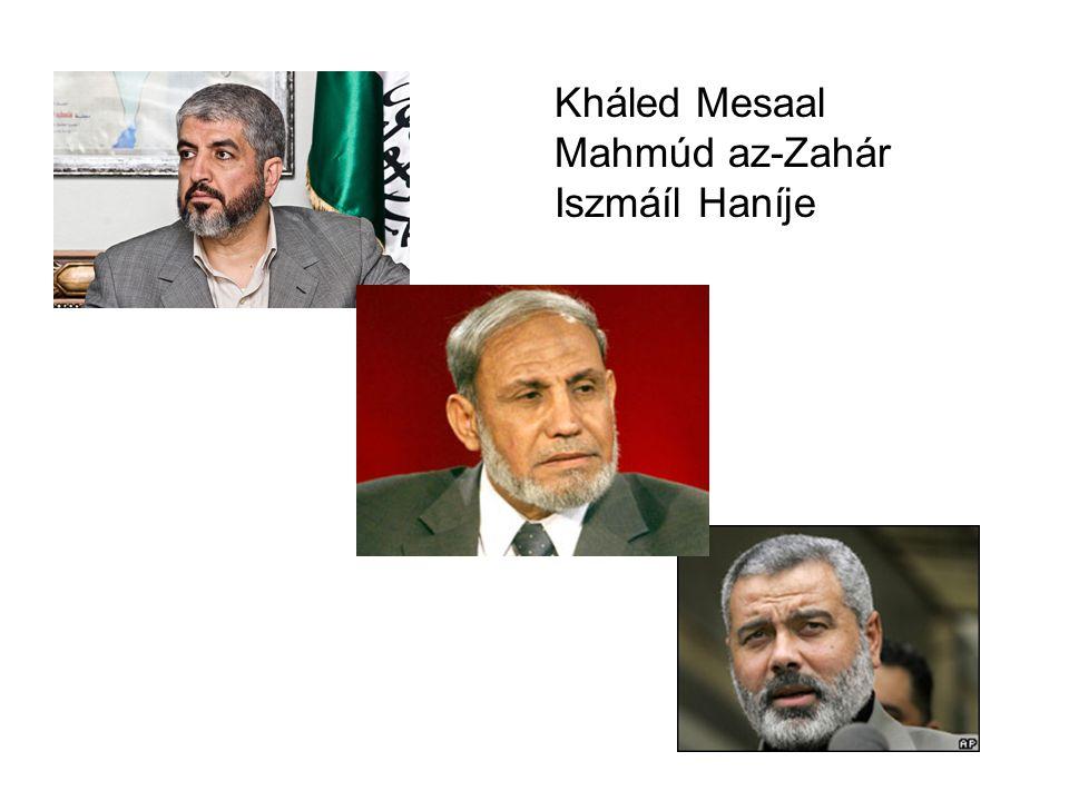 Kháled Mesaal Mahmúd az-Zahár Iszmáíl Haníje
