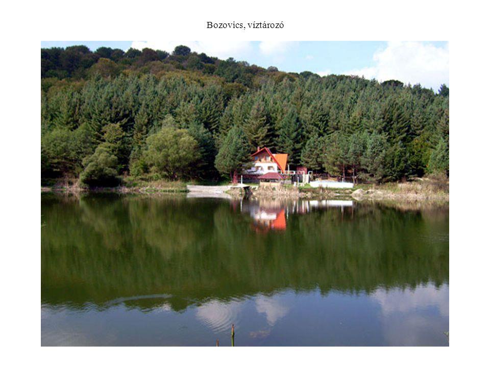 Bozovics, víztározó