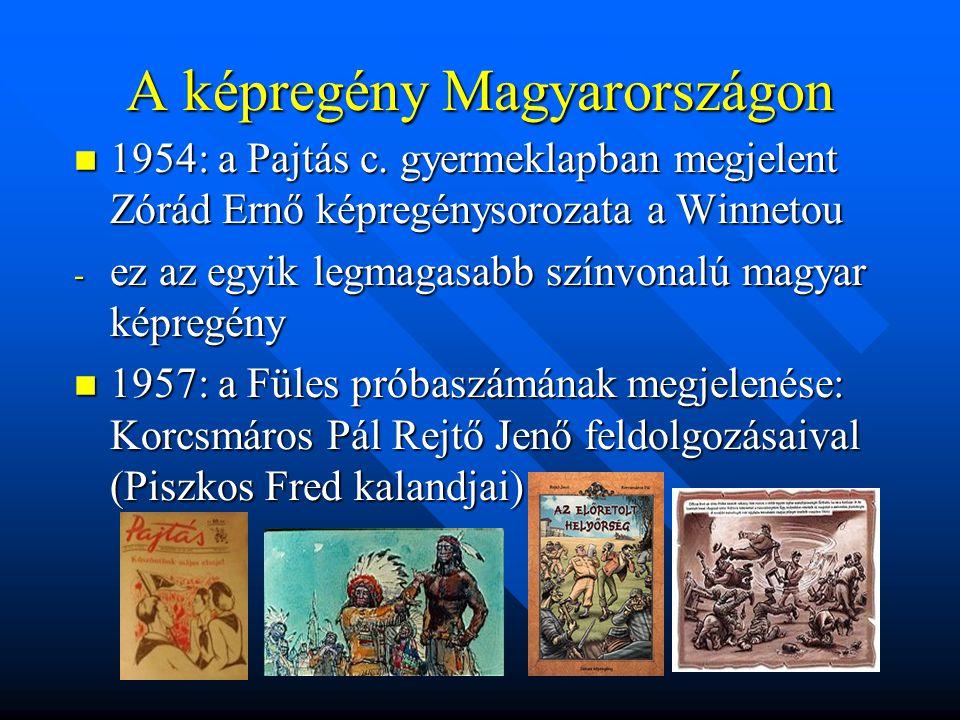 A képregény Magyarországon  1954: a Pajtás c.