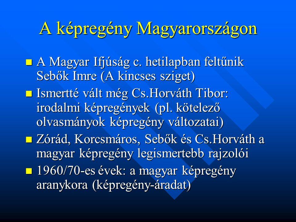 A képregény Magyarországon  A Magyar Ifjúság c.