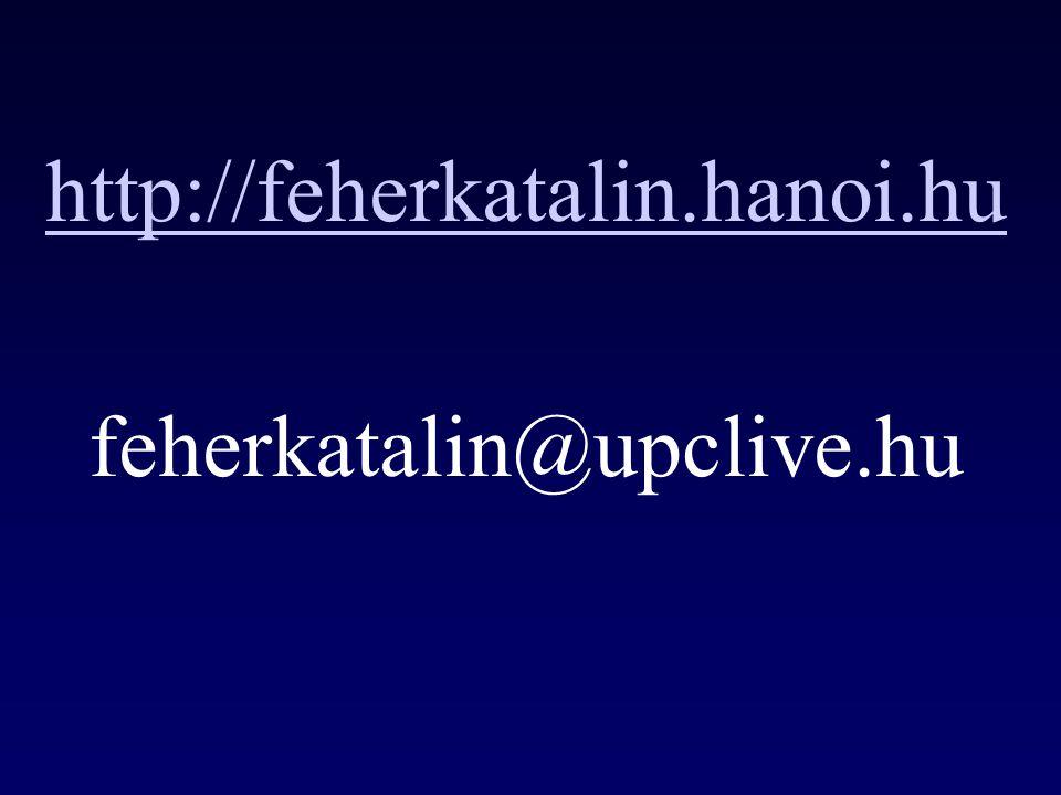 http://feherkatalin.hanoi.hu feherkatalin@upclive.hu