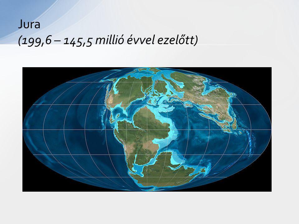 Jura (199,6 – 145,5 millió évvel ezelőtt)
