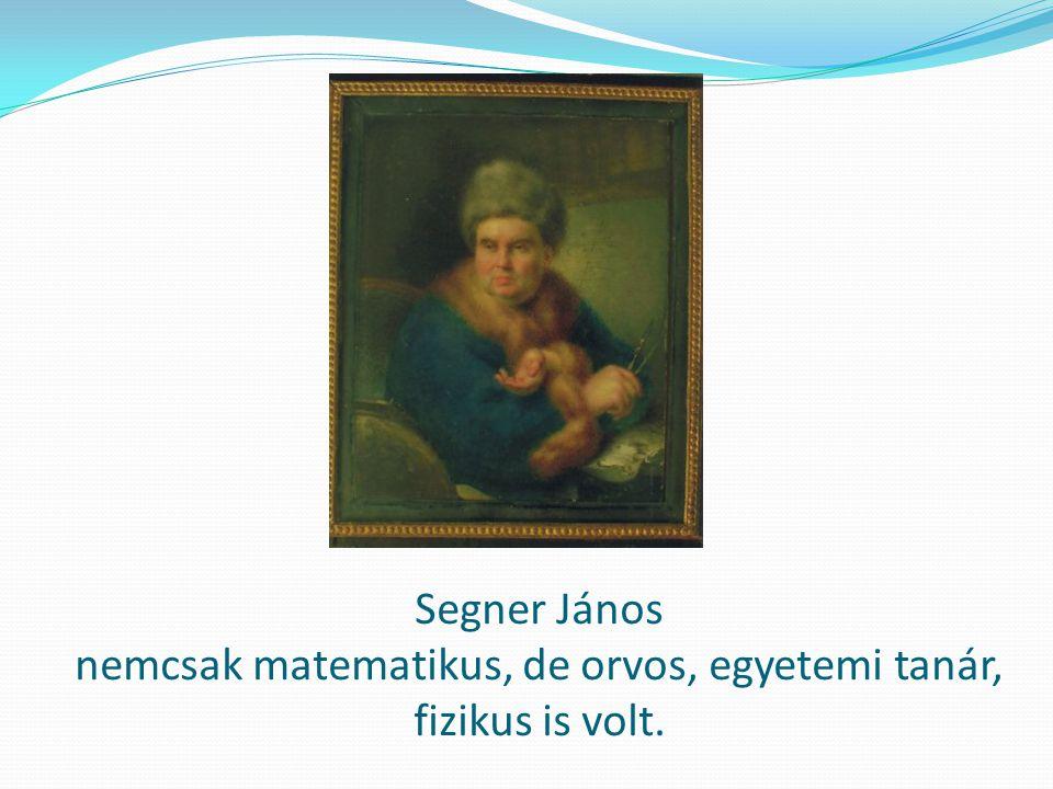Segner János legjelentősebb találmányának rajza: a vízikerék (Senger kerék)