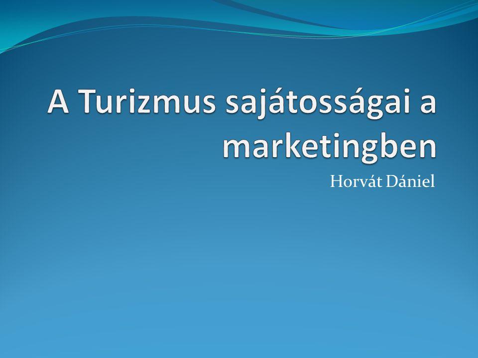 Turizmusmarketing  Nem önálló tudomány.  Meghatározásai: a fogyasztók igényeire épülnek.