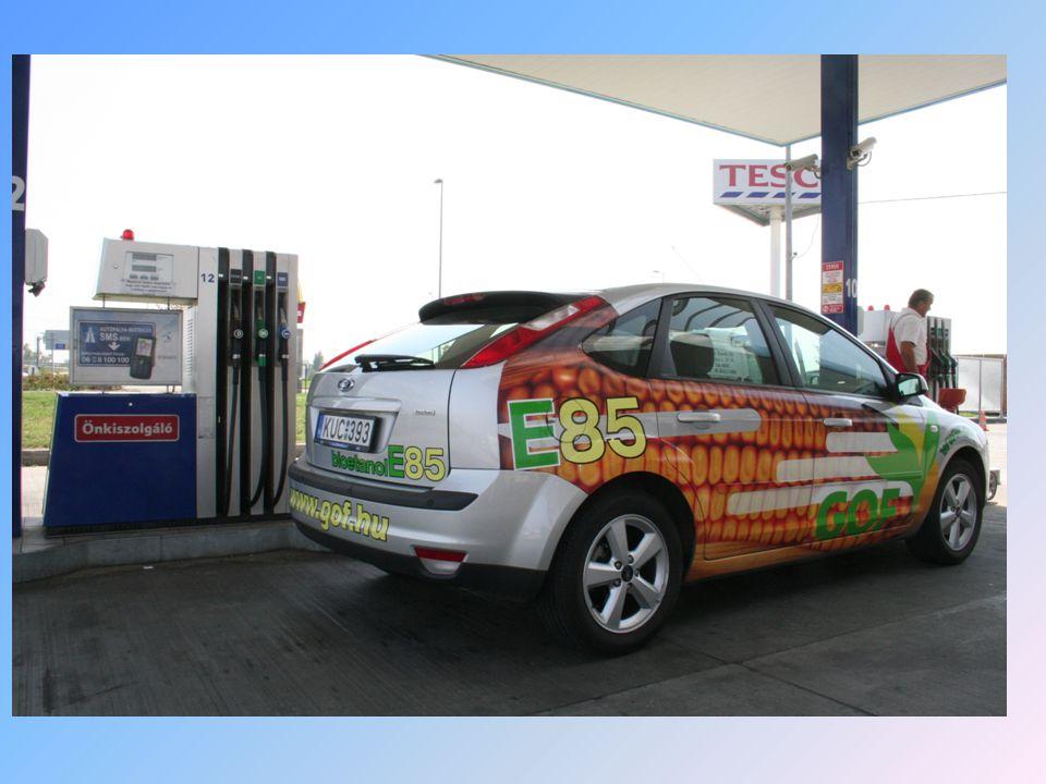 A bioetanol évente megújuló növényekből előállított üzemanyag, és elvileg semleges hatású az üvegház-hatásra.