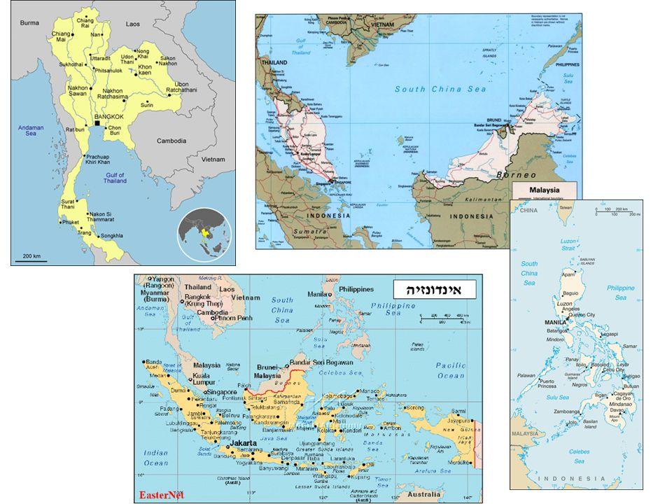 Közös jellemzők • Nagy népesség (olcsó munkaerő) • Fiatal népesség, magas természetes szaporodás • Népsűrűség egyenlőtlen – természeti adottságok (Jáva átlagos népsűrűség 830 fő/km2) • 1-2 nagy város (Bangkok, Manila, Hanoi), túlzsúfolt falvak (cölöp építkezés nedvesség és vadállatok, rovarok ellen) Városok nem ipari kp.