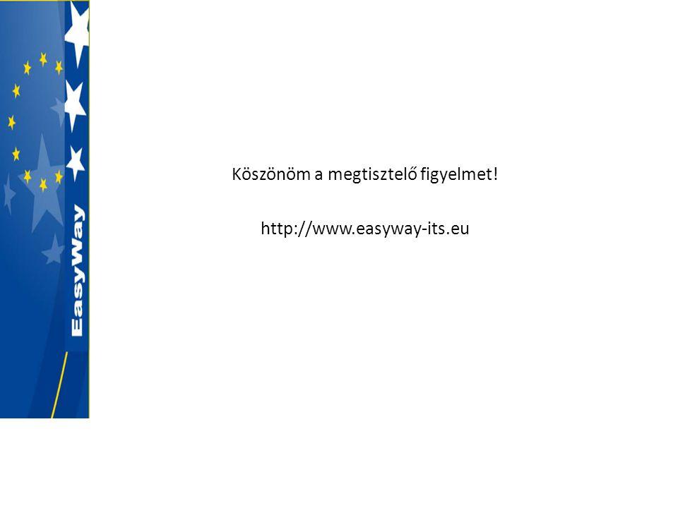 Köszönöm a megtisztelő figyelmet! http://www.easyway-its.eu