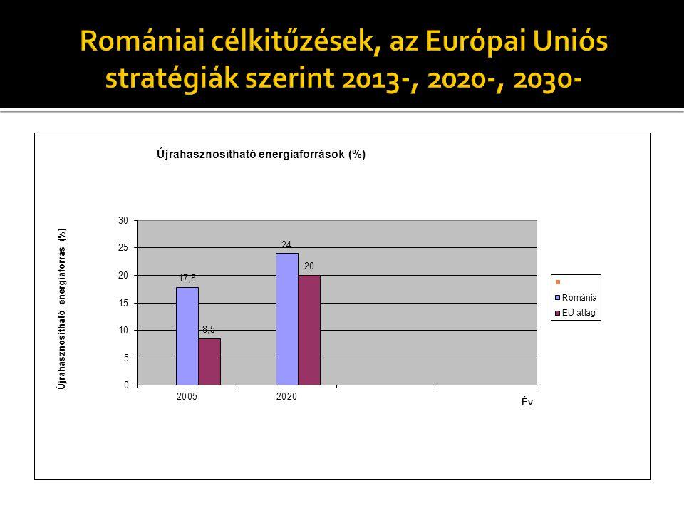 """ az EU energiapolitikai törekvései az Európai Tanács által 2010 júniusában """"Európa 2020: Az intelligens, fenntartható és inkluzív növekedés stratégiája címmel közreadott dokumentumban is központi szerepet kapnak."""
