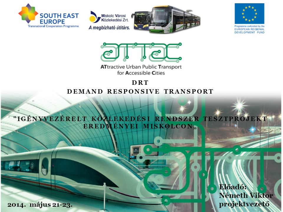 1 DRT DEMAND RESPONSIVE TRANSPORT