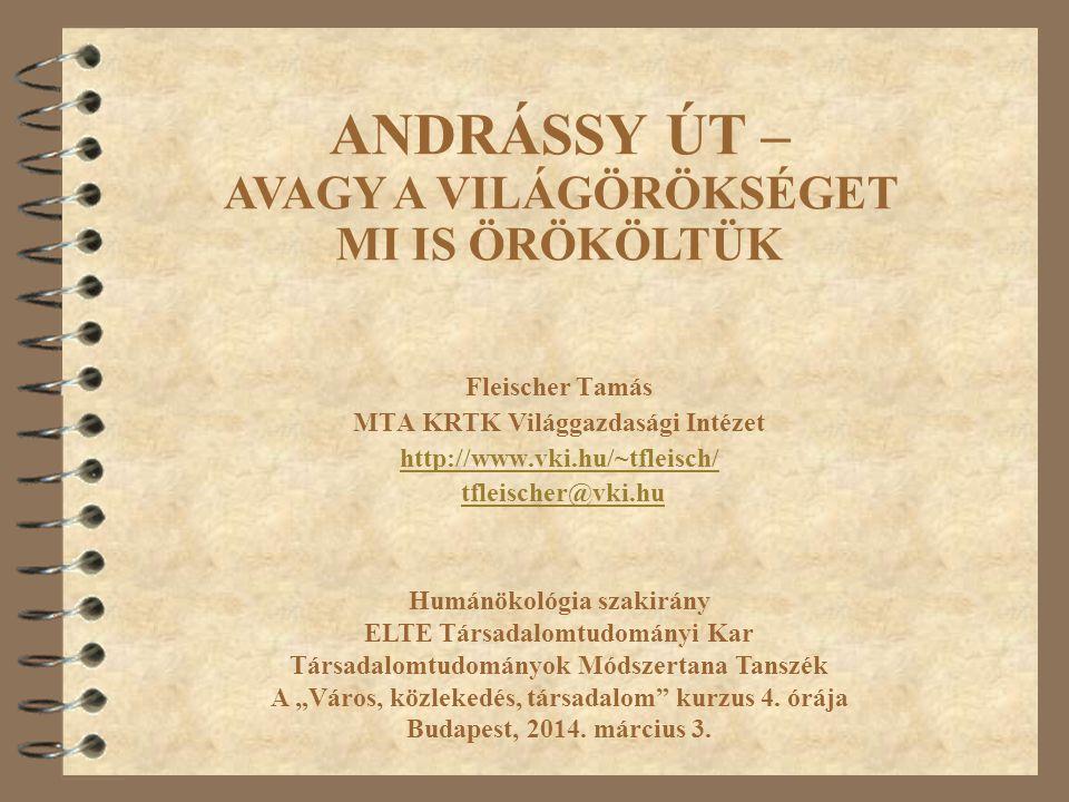 42 Andrássy út: A földalatti és megállója