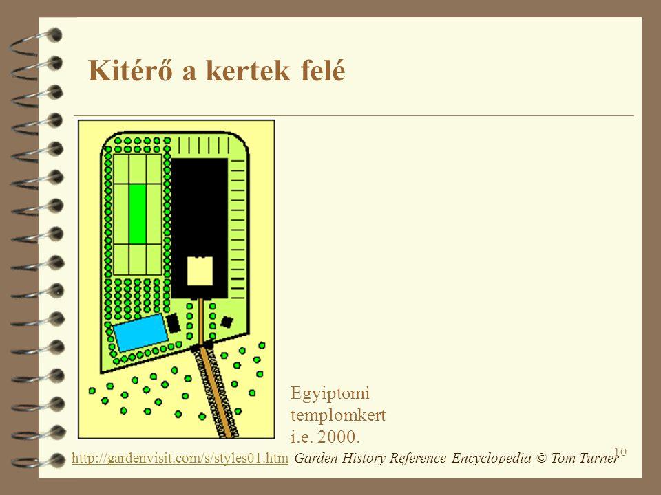 10 Egyiptomi templomkert i.e. 2000. http://gardenvisit.com/s/styles01.htmhttp://gardenvisit.com/s/styles01.htm Garden History Reference Encyclopedia ©
