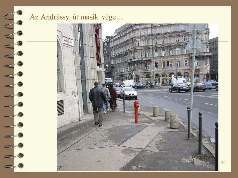 58 Az Andrássy út másik vége…