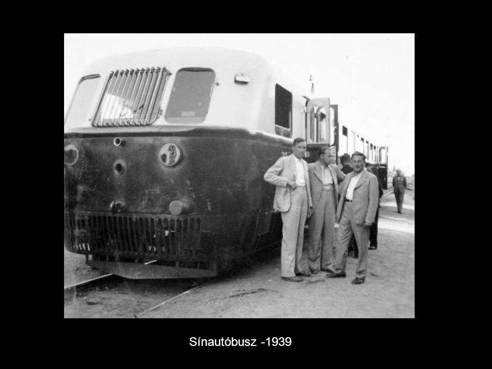 Óbudai trolibusz -1939