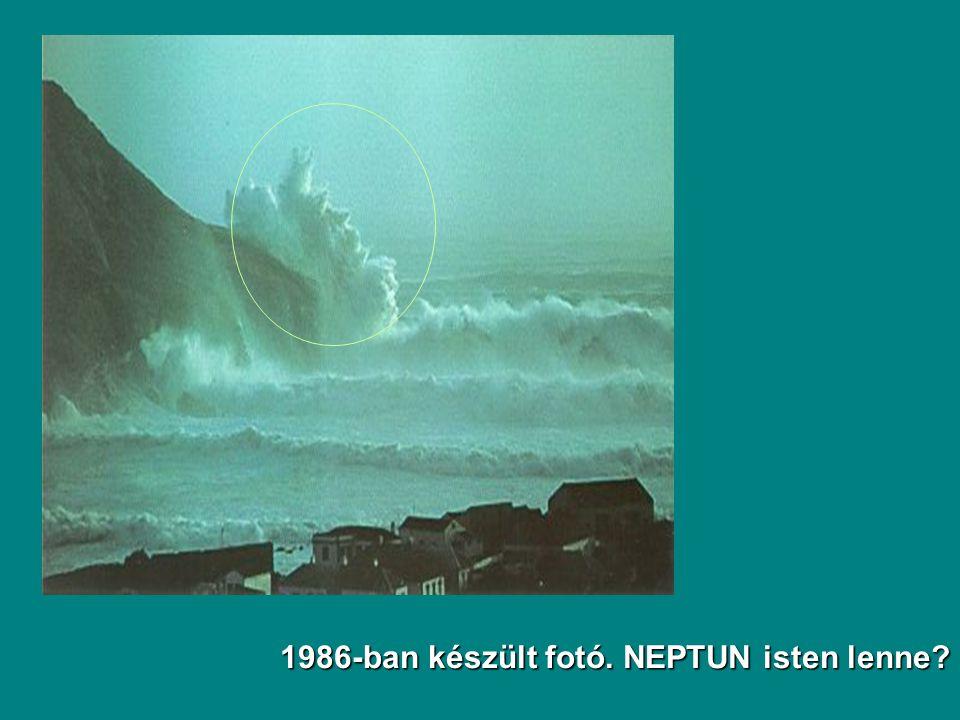 1986-ban készült fotó. NEPTUN isten lenne