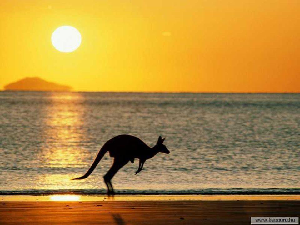 Az Ausztrál Államszövetség 6 szövetségi államból és 2 szövetségi területből áll, fővárosa: Canberra. A 6 szövetségi Új Dél Wales (New South Wales) - f