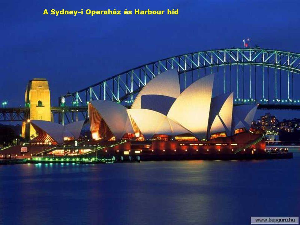 A Sydney-i Operaház tetői