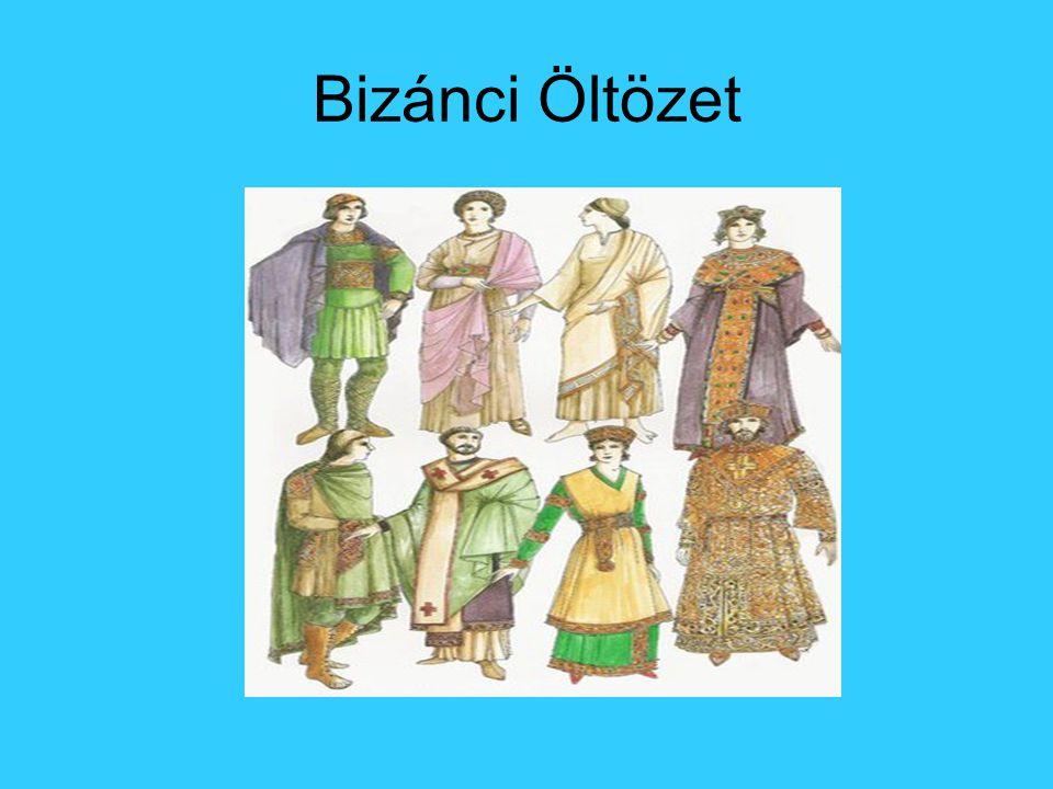 Bizánci Öltözet