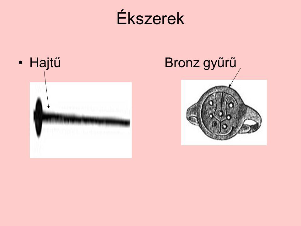 Ékszerek •Hajtű Bronz gyűrű