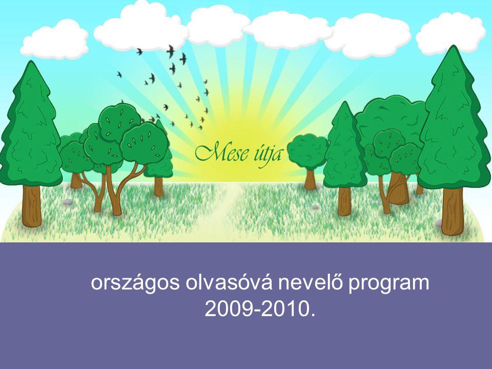országos olvasóvá nevelő program 2009-2010.