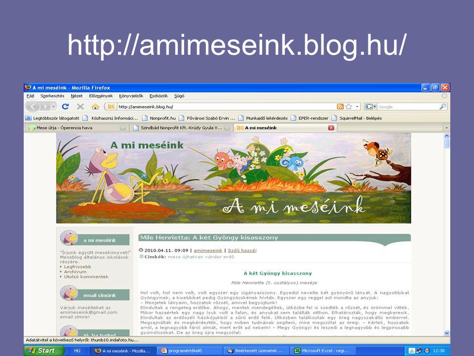 http://amimeseink.blog.hu/