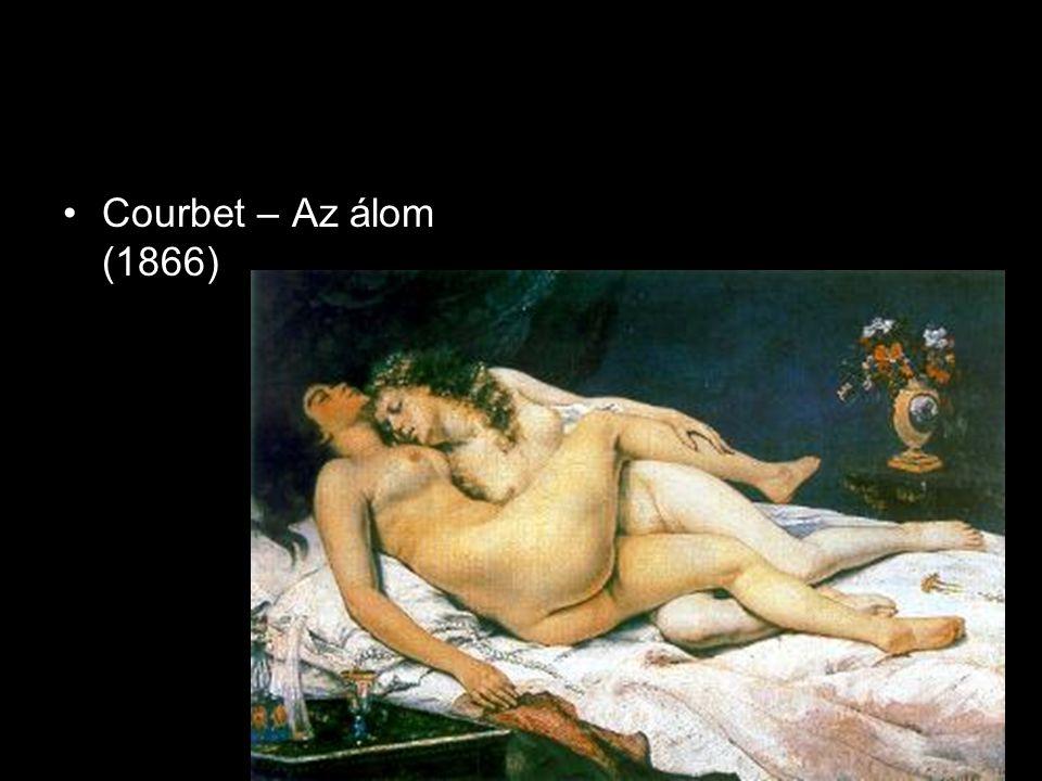 •Courbet – Az álom (1866)