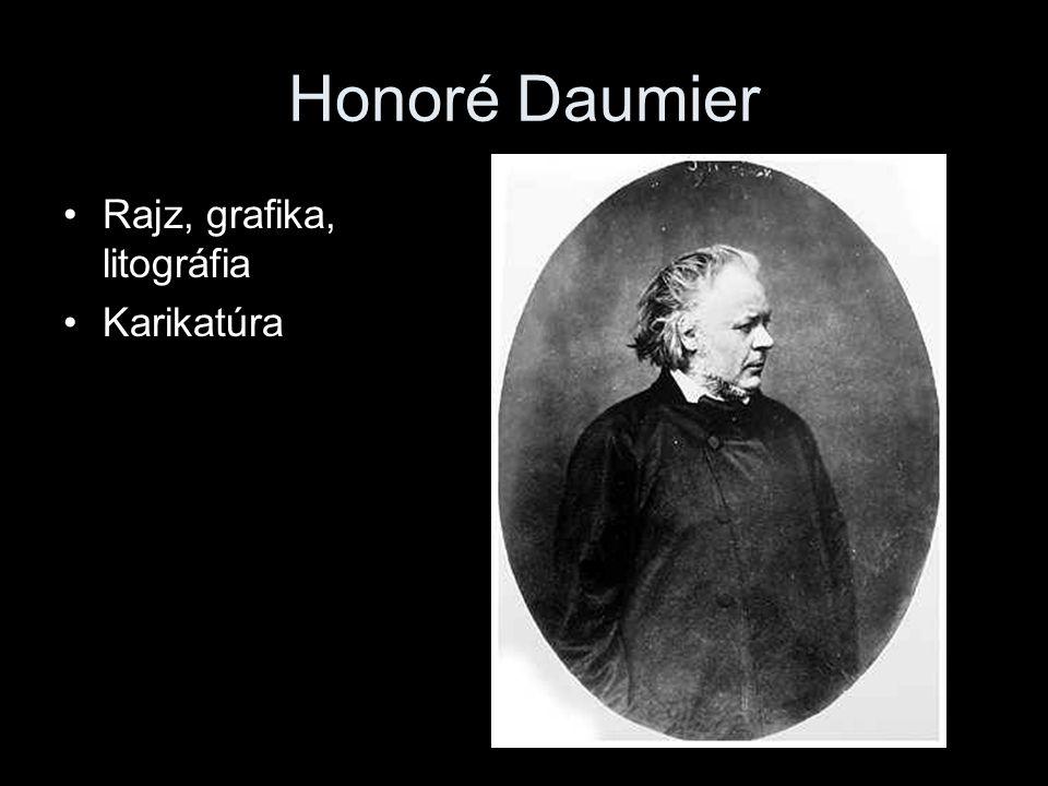 Honoré Daumier •Rajz, grafika, litográfia •Karikatúra