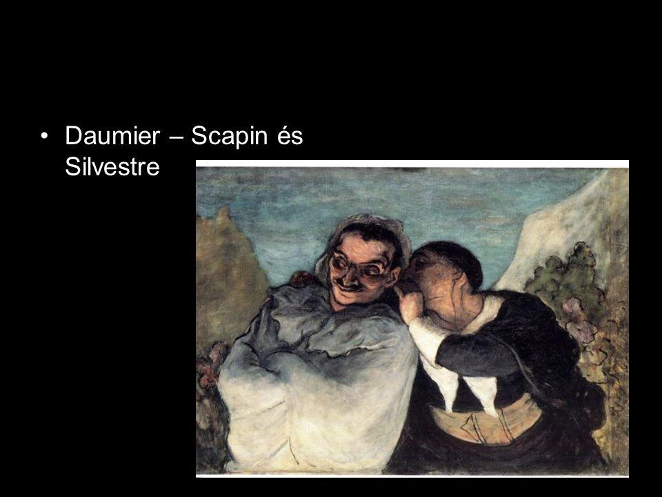•Daumier – Scapin és Silvestre