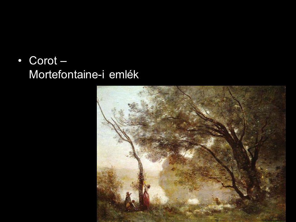 •Corot – Mortefontaine-i emlék