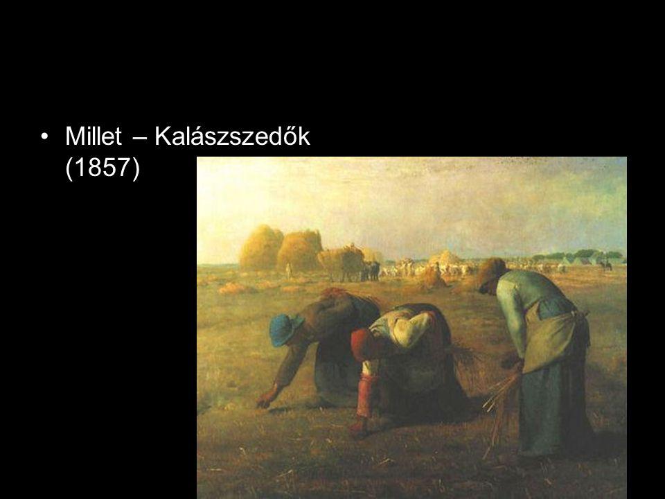 •Millet – Angelus (1857-59)