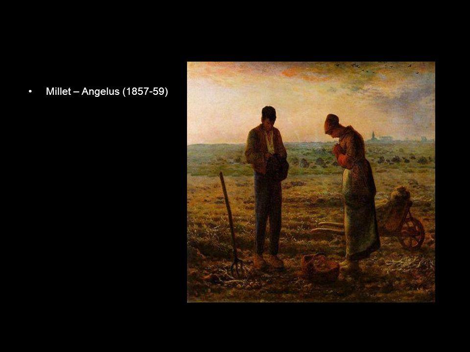 """Gustave Courbet •Agresszivitás, gőgösség, botrányok •Realizmus vezéralakja """"…A század első és egyetlen festője vagyok; a többiek tanoncok vagy ostobák… """" Semmiféle iskolában nem tudom tanítani a művészetemet, sem pedig a művészetet, mert tagadom, hogy a művészetet tanítani lehet; a művészet teljességgel egyéni, és minden művész tehetsége csakis saját ihletéből fakad."""
